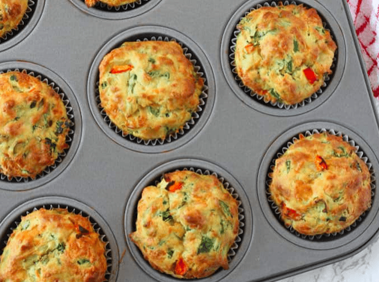 muffin-recipes-for-kids-cheese-and-spinach