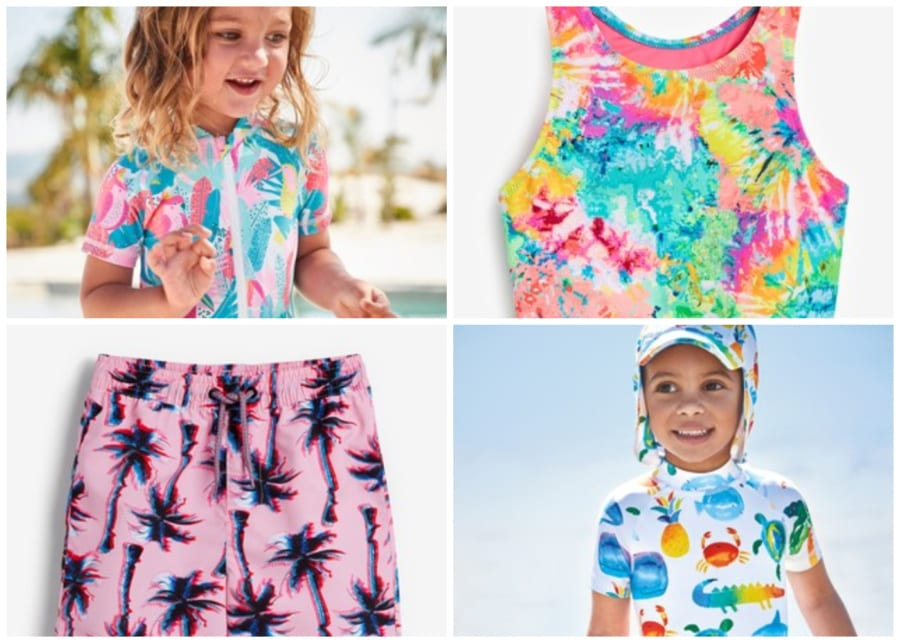 kids swimwear girls bathers
