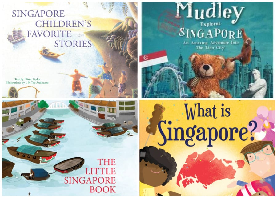 childrens books about singapore