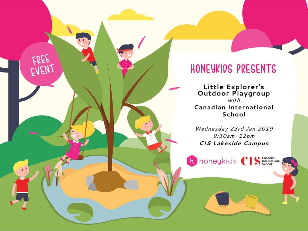 HoneyKids presents Little Outdoor Explorers with CIS