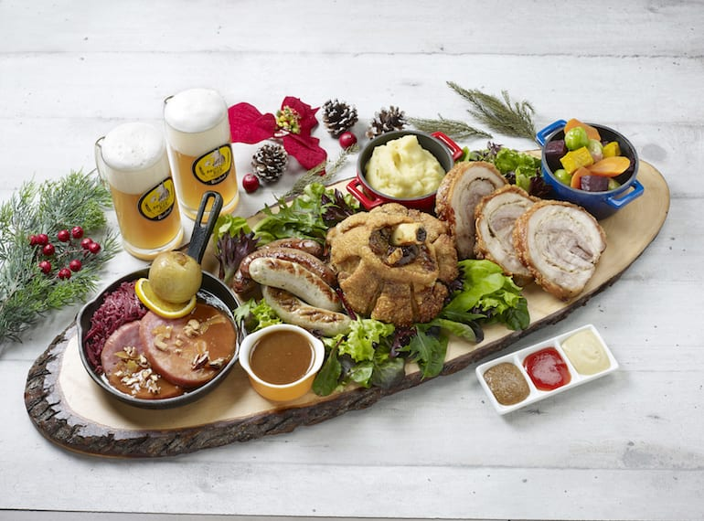Christmas-Platter Brotzeit