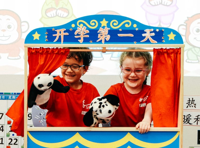 VIDEO: Take a peek at Singapore American School's Chinese language immersion programme