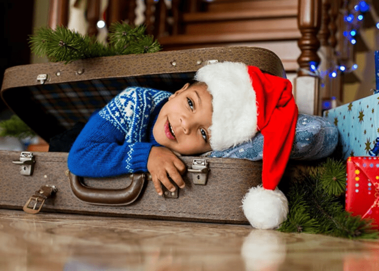 Christmas travel with kids: how to ace packing and limit your luggage