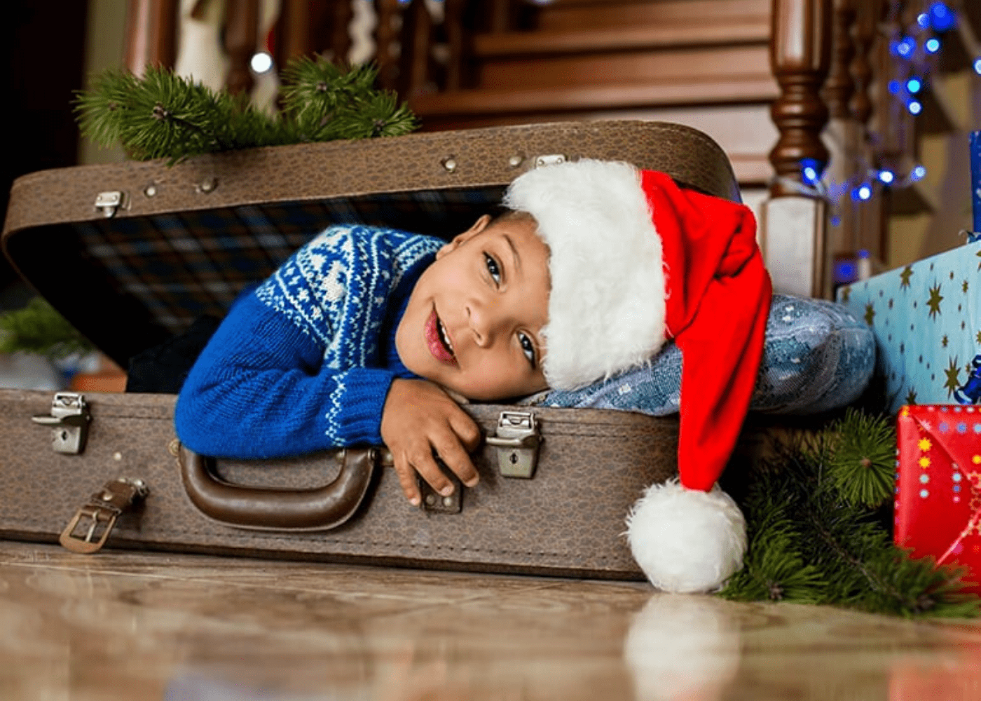 Packing for an overseas Christmas with kids: how to limit and manage your luggage