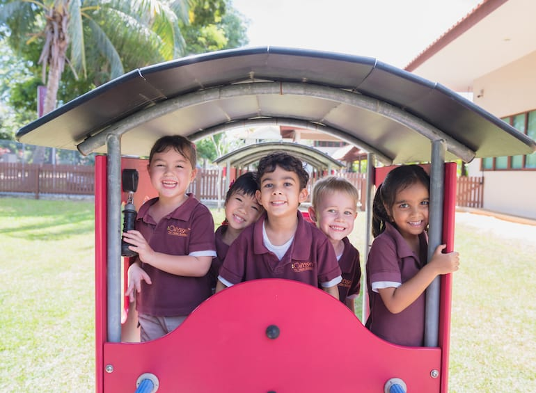 A preschool in Singapore with bespoke services? Only at Odyssey Orchard