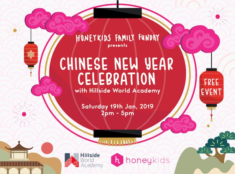 You're invited: HoneyKids Family Fun Day presents CNY Celebration with Hillside World Academy (HWA)