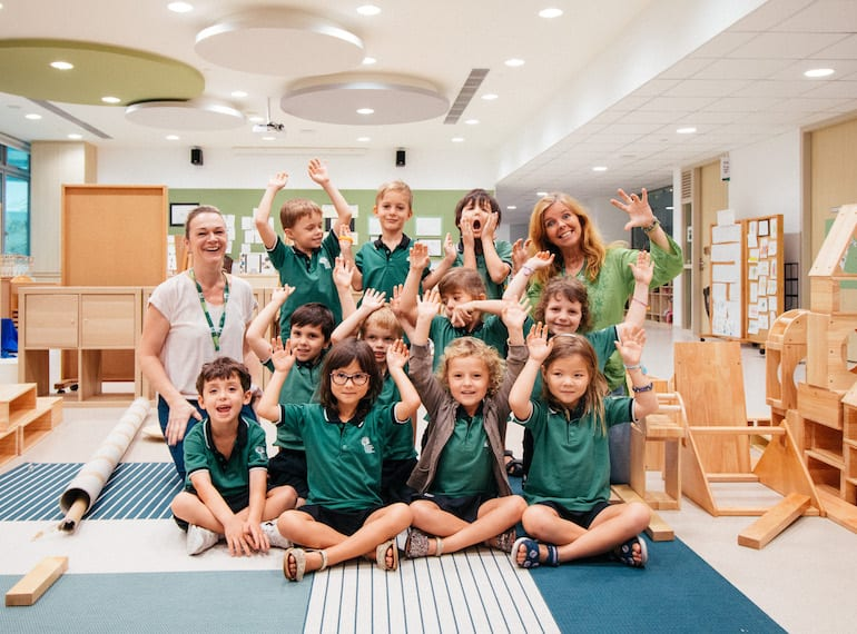 VIDEO: Watch how GESS's pre-school kiddos make the most of their day