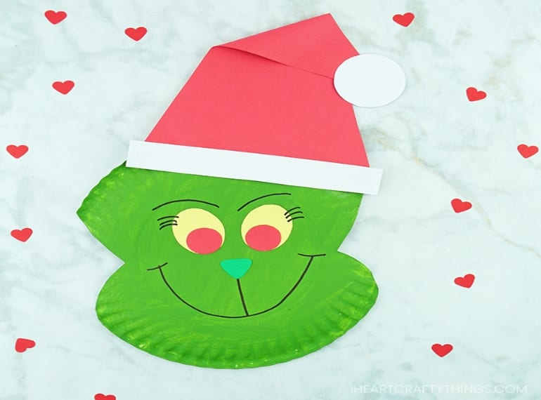 christmas-craft-ideas-for-kids-GRINCH
