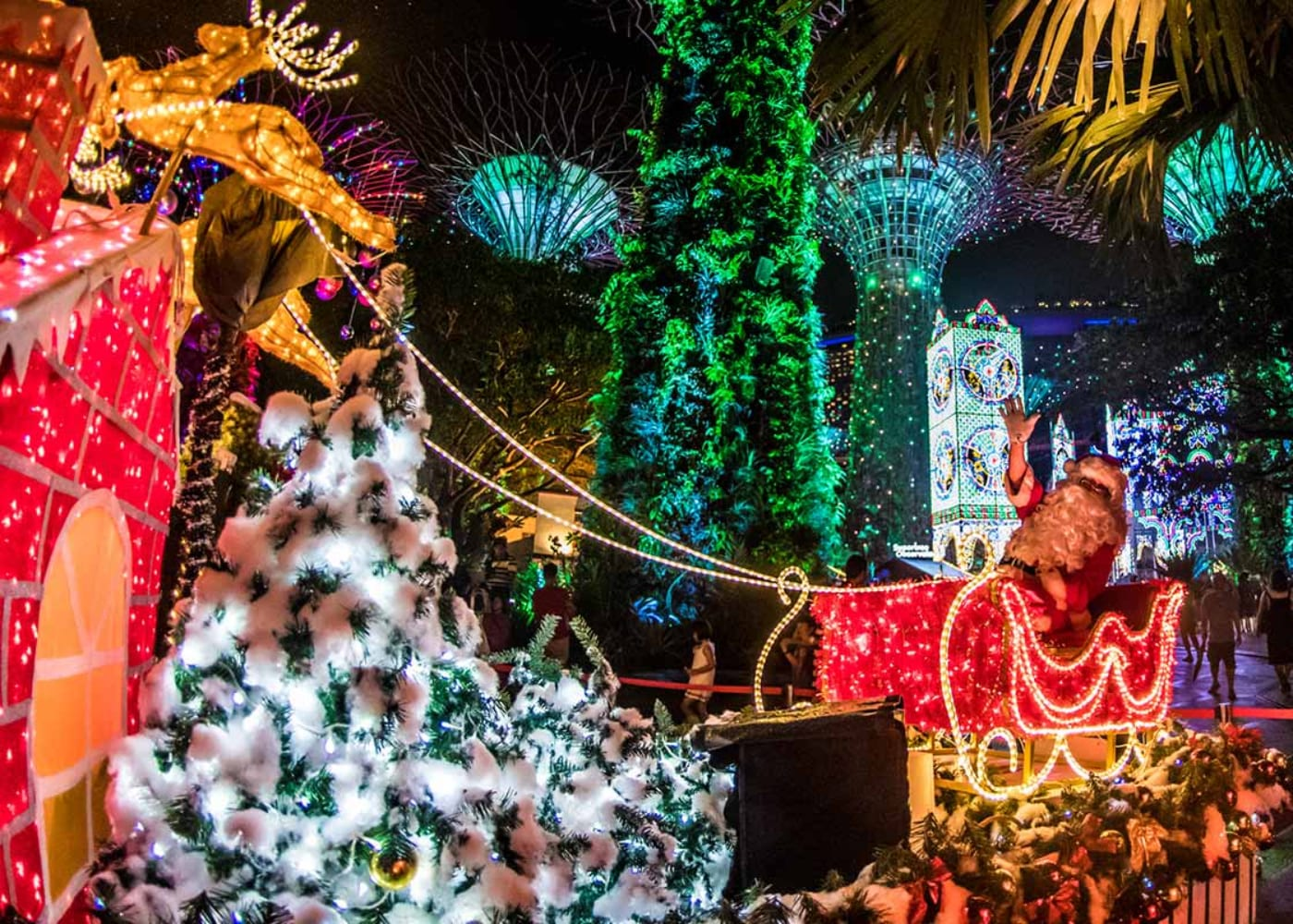 christmas events wonderland gardens by the bay