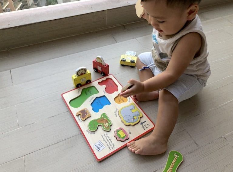 Dear Zoo wooden toys