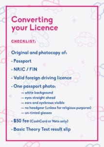 Driving in Singapore: How to get your license
