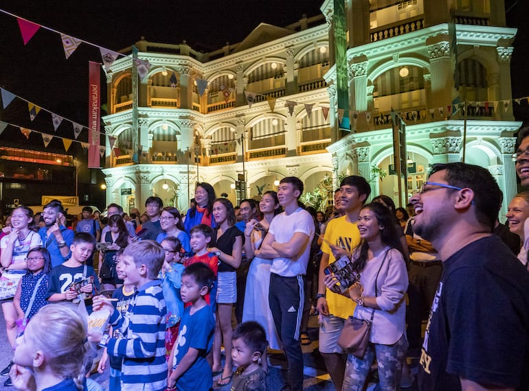 Armenian Street Party Peranakan Museum