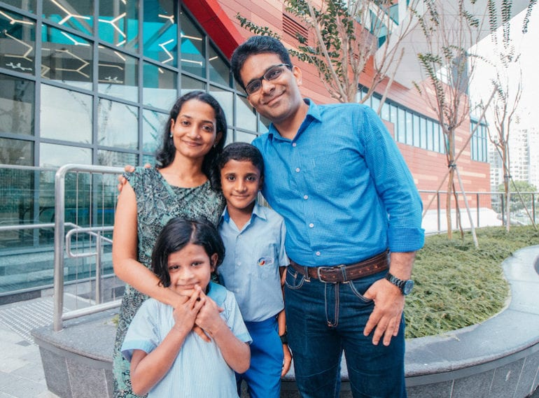 Parent review of Global Indian International School Singapore: A school where children develop holistically