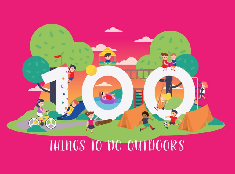 Get outdoors with our HUGE list of 100 outdoor activities for kids in Singapore