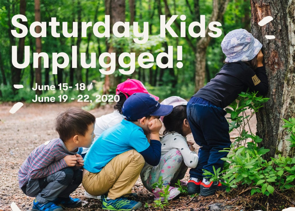 Saturday Kids Unplugged in Japan