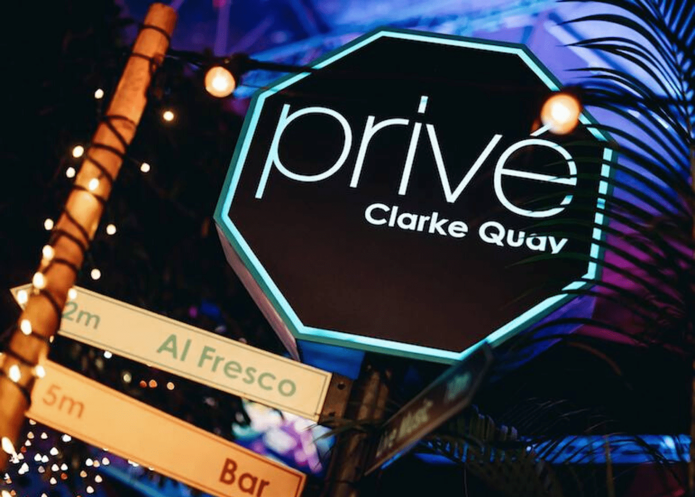 prive clarke quay mums night out