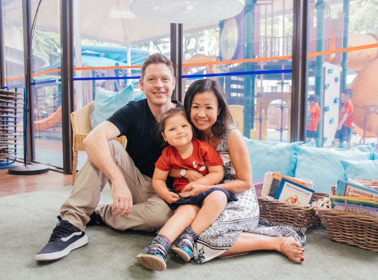 The Garry family share why they love Singapore American School