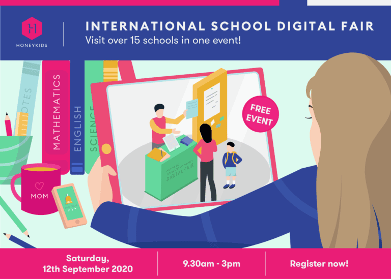 Have you signed up for the HoneyKids Asia International School Digital Fair 2020? (Psst, it's FREE!)