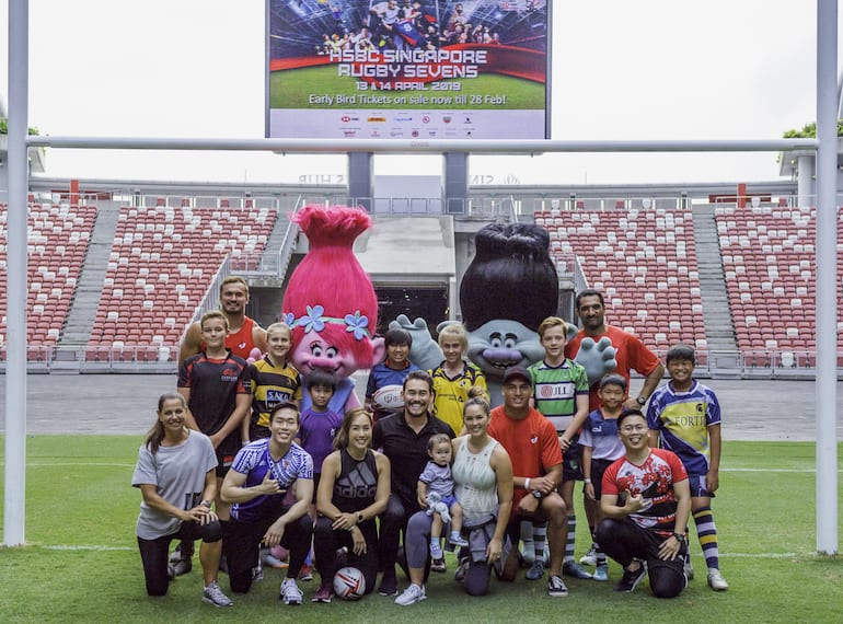 HSBC Rugby7s-Honeykids Asia Singapore
