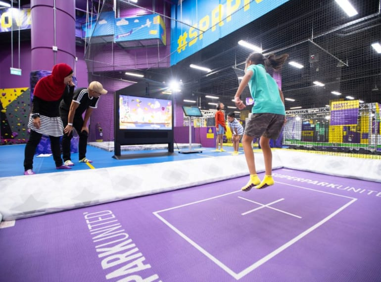 superpark-1 trampoline parks Honeykids Asia Singapore