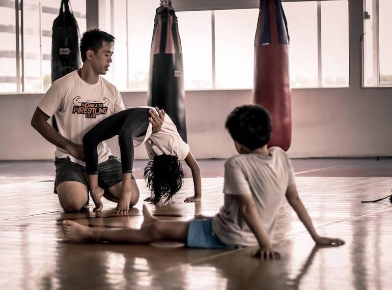 Gabriel Huang Meerkats Wrestling Club Honeykids Asia Singapore