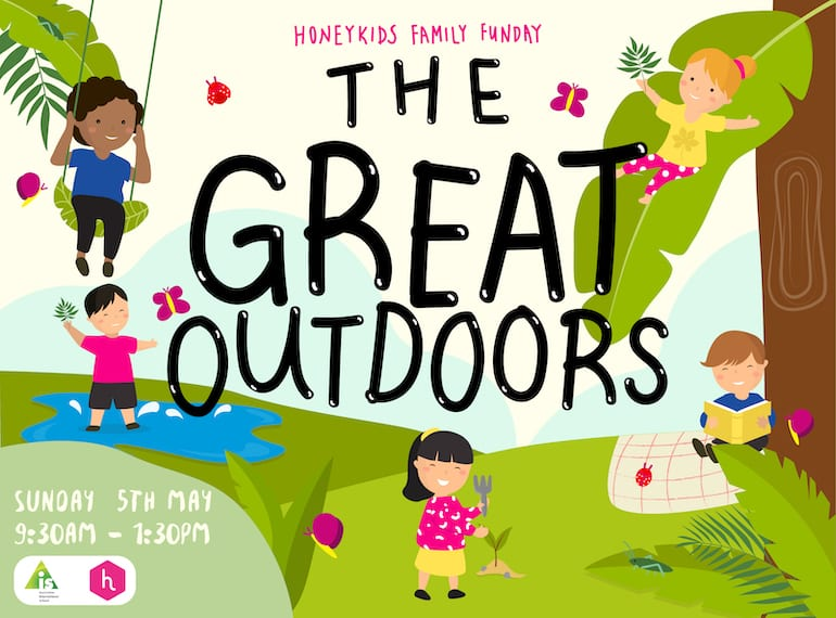 HoneyKids Family FunDay presents The Great Outdoors with AIS