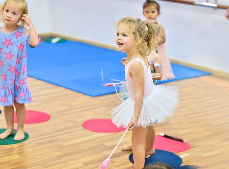 Find of the Week: Dance at the Difference – boutique dance classes for kids under 7!
