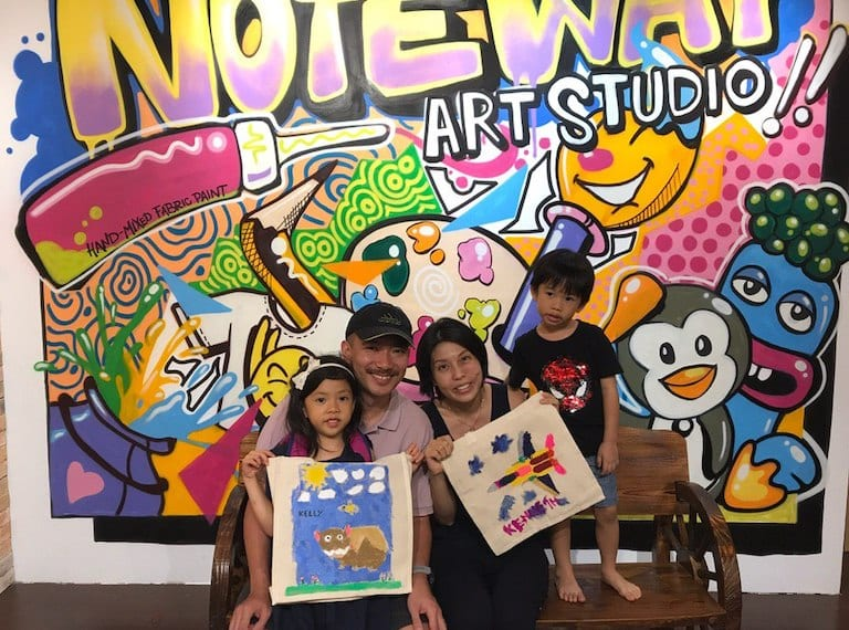 Best party venues for kids in Singapore: Streaks n Strokes