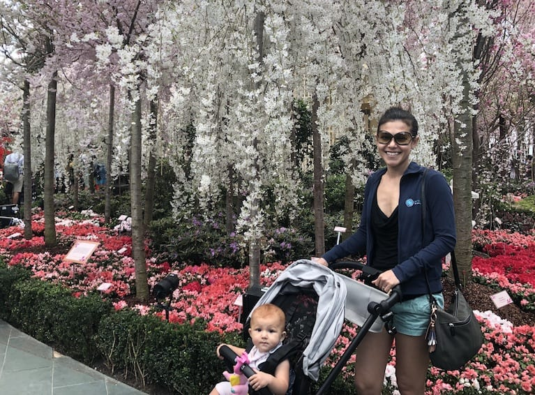 Cool parents in Singapore: mum-of-one and co-founder of Aerospring, Nadine Linneberg