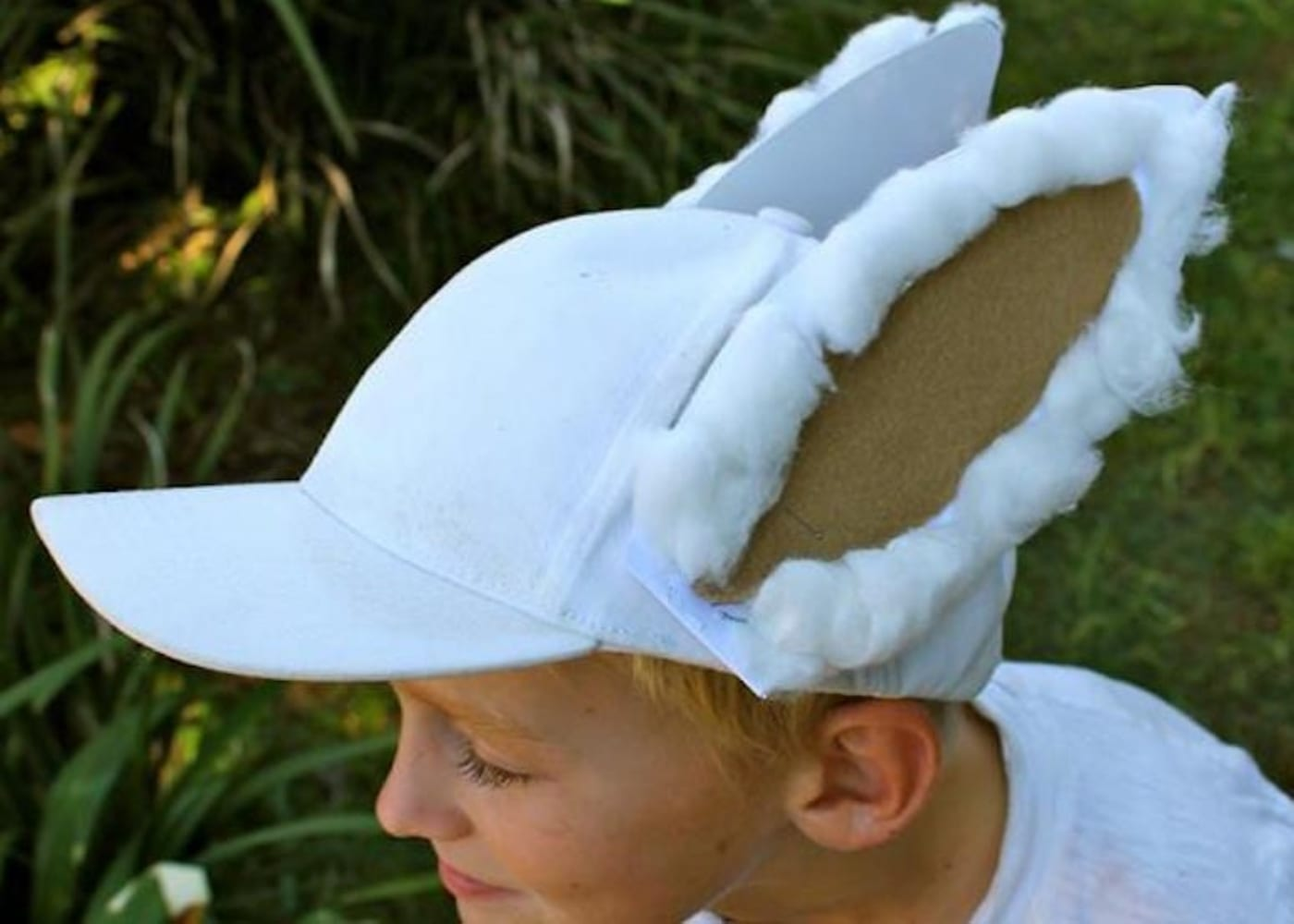 bunny baseball easter hat