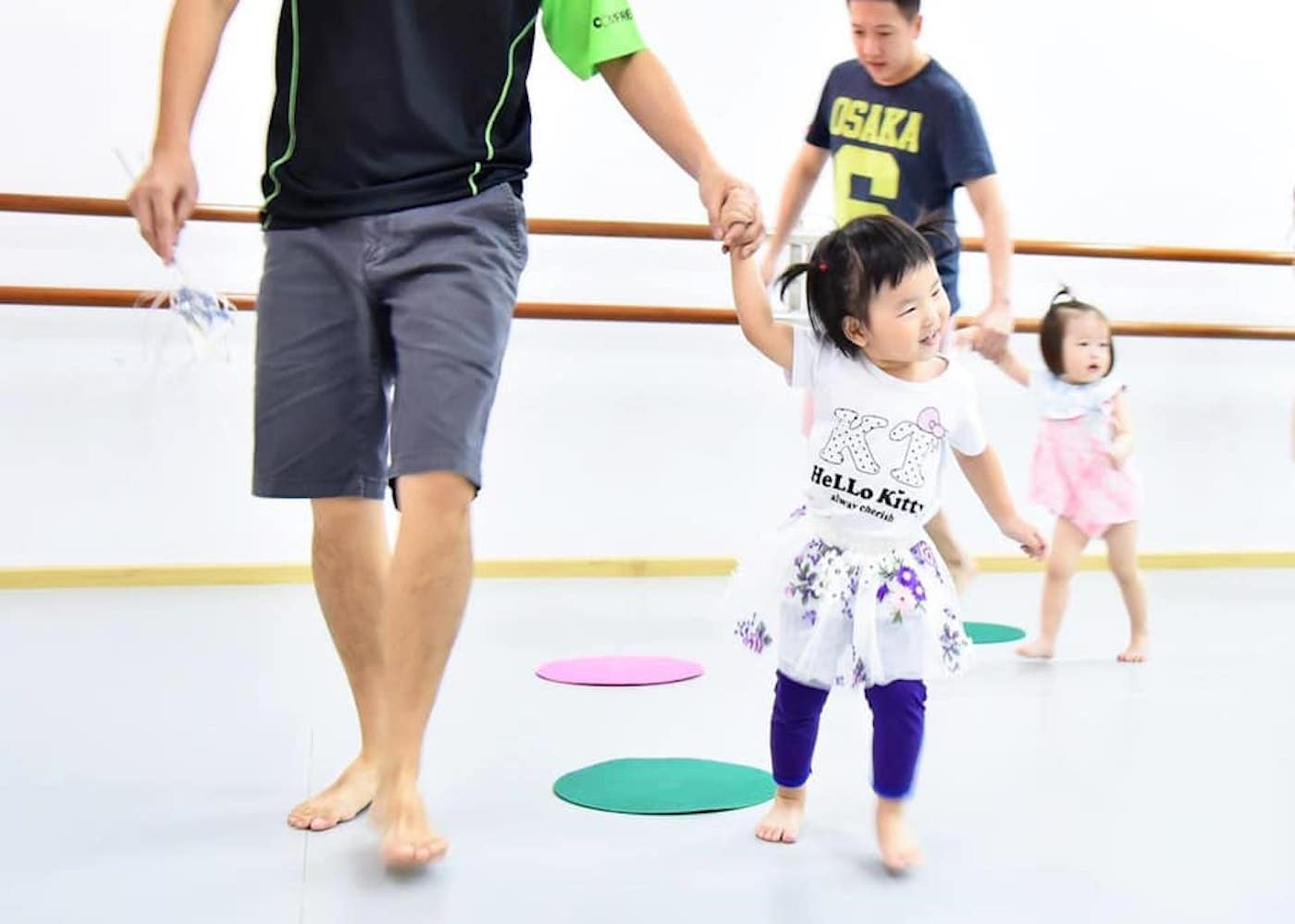 dance at the difference best toddler dance classes in Singapore