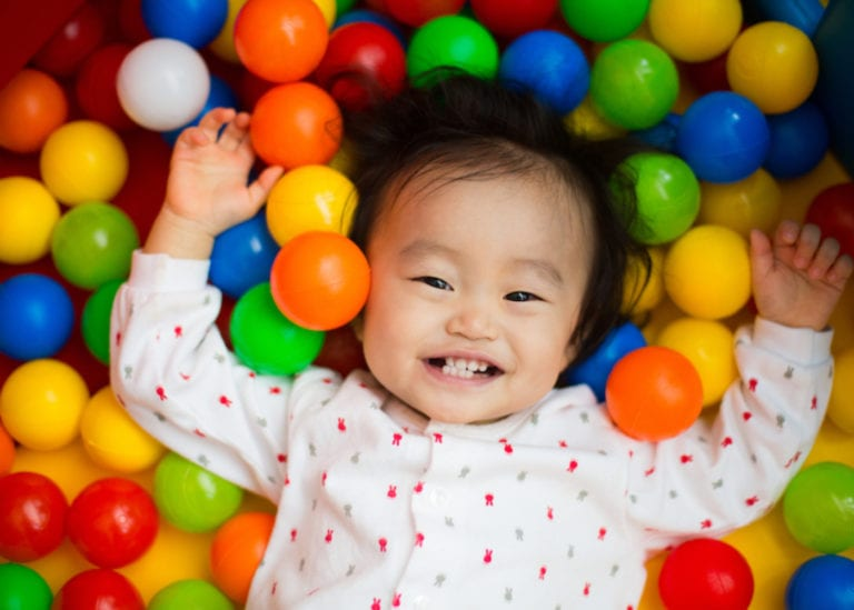 Soft and indoor play areas for babies in Singapore to crawl, roll and bounce
