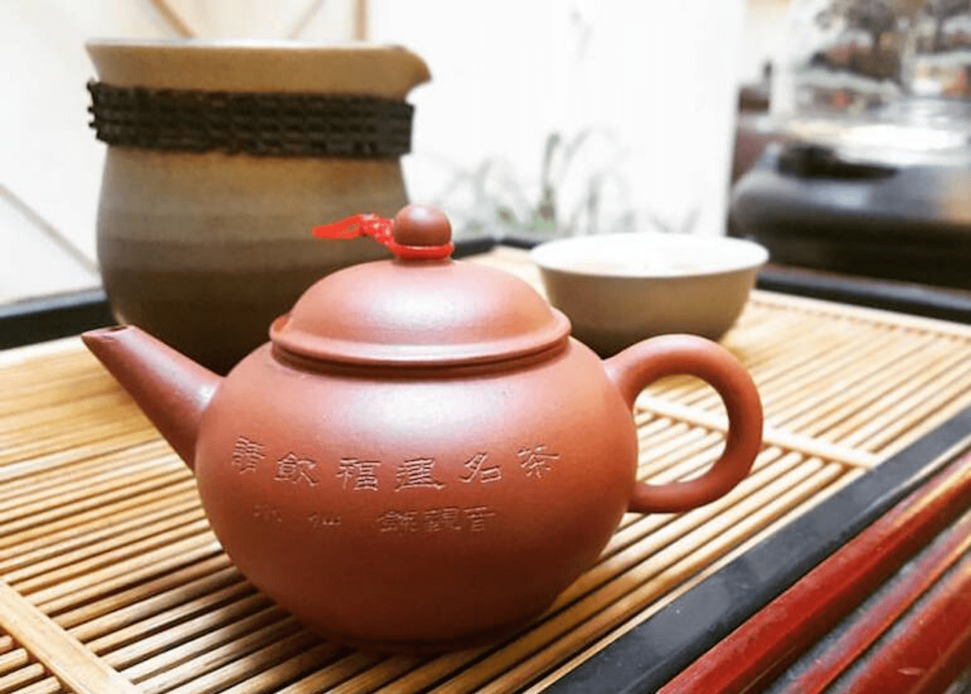 Chinese tea appreciation with Tea Chapter | Creative and fun workshops for parents in Singapore