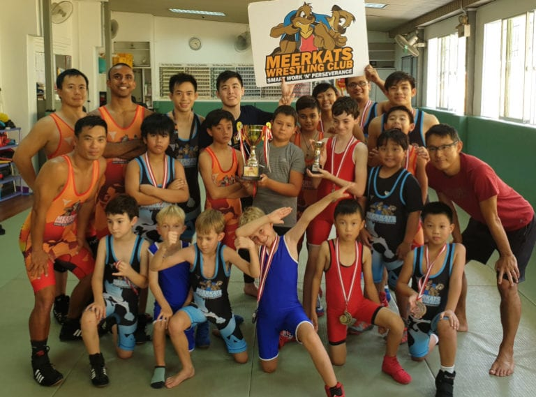 Coach Gabe takes down the myths on wrestling for kids in Singapore