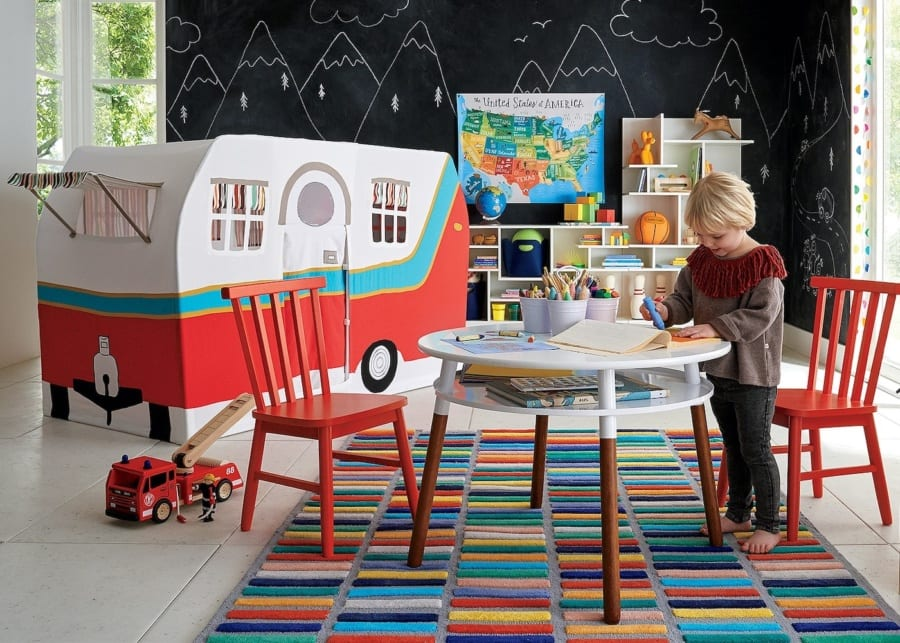 Crate & Barrel - where to buy kids rugs in Singapore