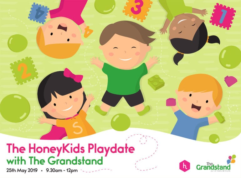 You're invited to fun and learning at The HoneyKids PlayDate with The Grandstand