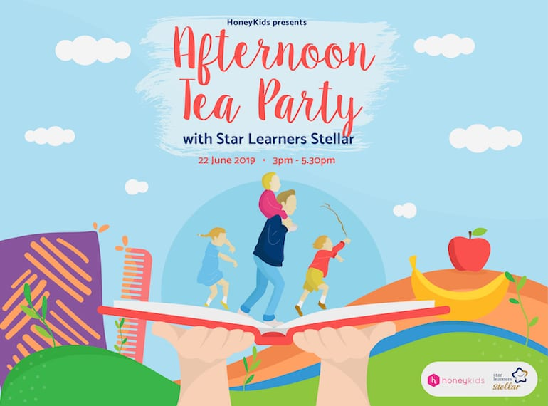 HoneyKids presents Afternoon Tea with Star Learners Stellar