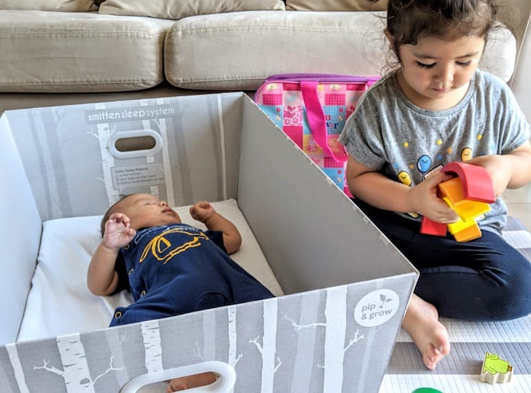 New baby on the way? Check out these baby bed boxes from Adora Box