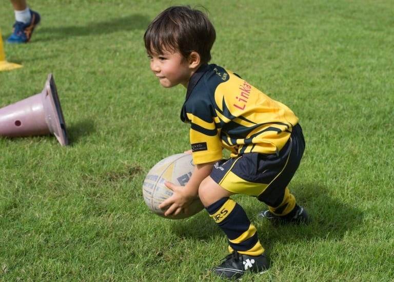 Kick-off that athletic career with the best rugby clubs for kids in Singapore
