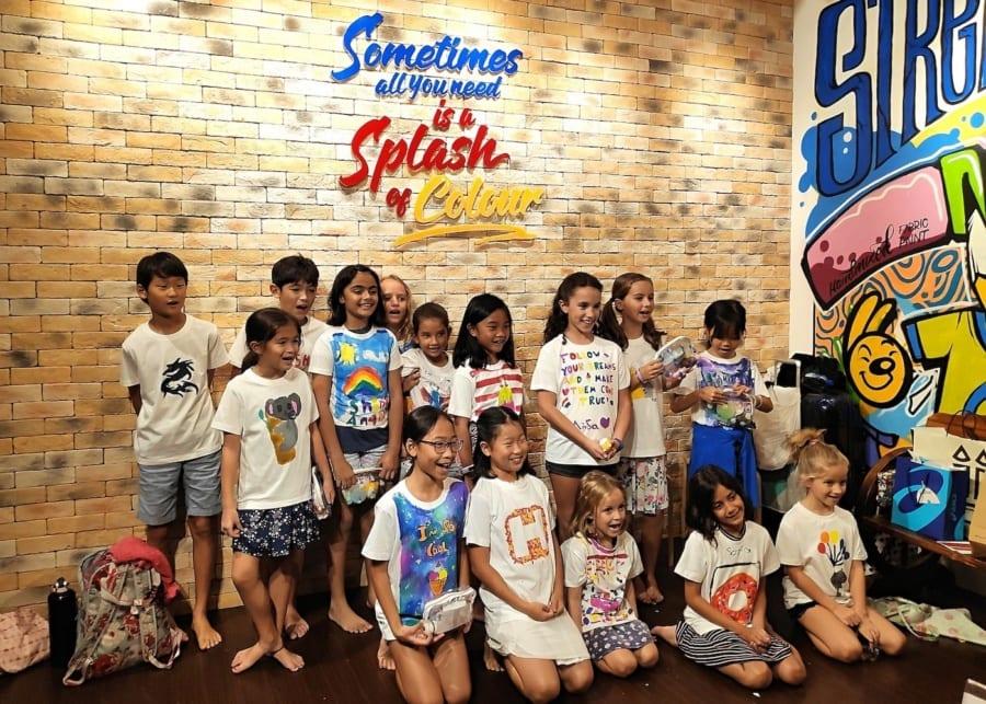Streaks n Strokes - kids birthday party venues in Singapore