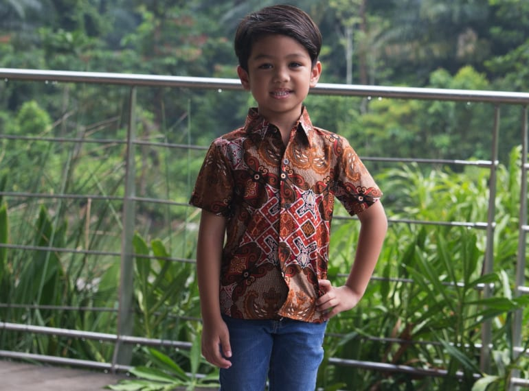 batique Hari Raya Fashion for kids Honeykids Asia Singapore