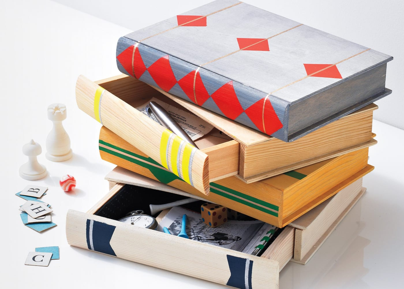 diy gifts book boxes
