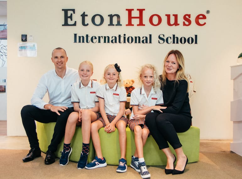 Mikkel and Mette Rasmussen, parents of three, share their thoughts on EtonHouse Orchard
