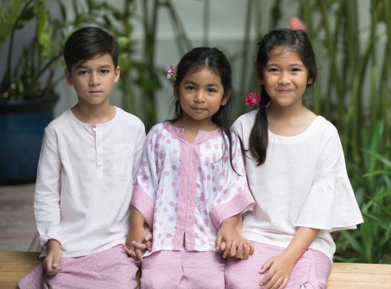 kooshboo Hari Raya Fashion for kids Honeykids Asia Singapore