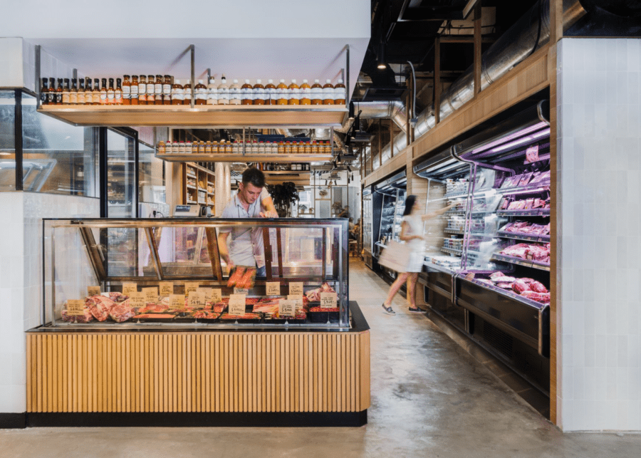 online grocery shopping little farms butcher counter