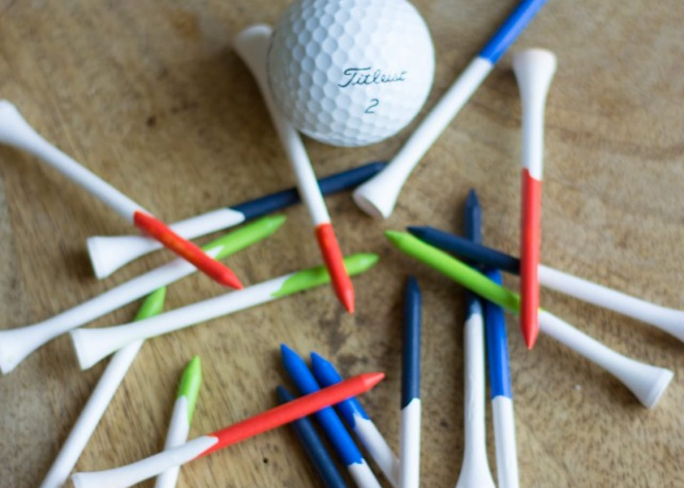 diy gifts for dad golf tees
