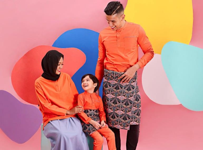 pokoks Hari Raya Fashion for kids Honeykids Asia Singapore