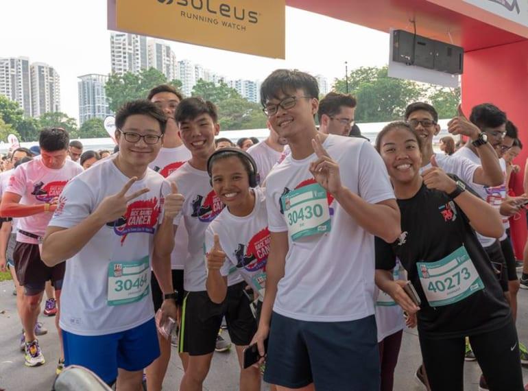 Singtel-Singapore Cancer Society Race Against Cancer 2019