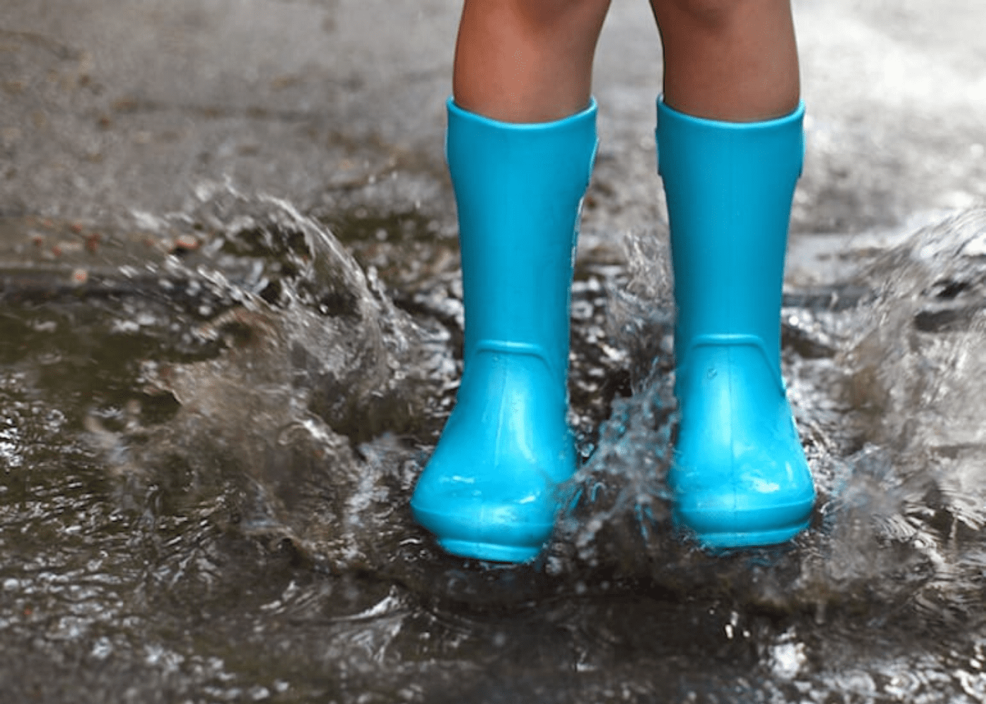 Play in the rain | rainy day activities