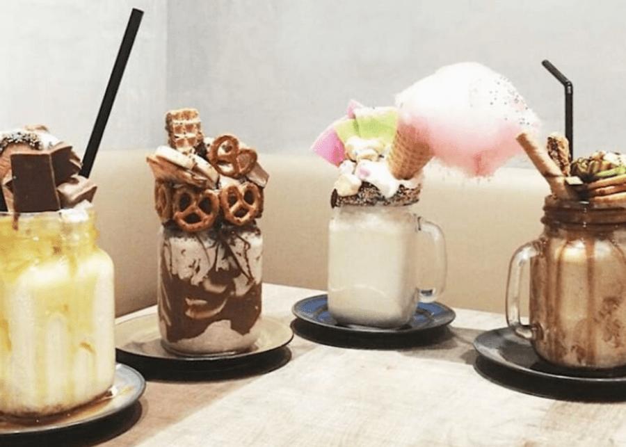 four milkshakes of vari